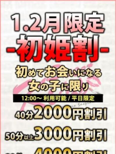 1・2月限定【初姫割り】